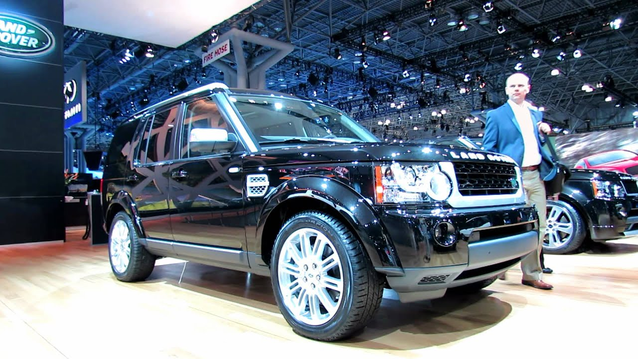 New Land Rover Discovery >> 2012 Land Rover LR4 HSE Luxury - Exterior and Interior at ...