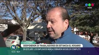 La tradicional fábrica de alfajores Estancia del Rosario, despidió a 25 personas