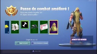 FORTNITE: I'm buying the SAISON 9 COMBAT PASS! TOUR COMPLET OF COMBAT SAISON 9