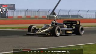 ブースト3.5k!のじゃじゃ馬F1に乗ってみた Lotus 98T Silver Stone