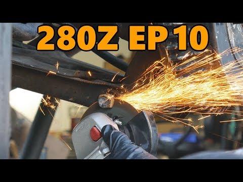 Datsun 280z Rear Lower Control Arm Upgrade (Ep.10)
