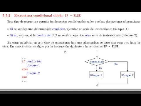 Estructura Condicional Doble Youtube