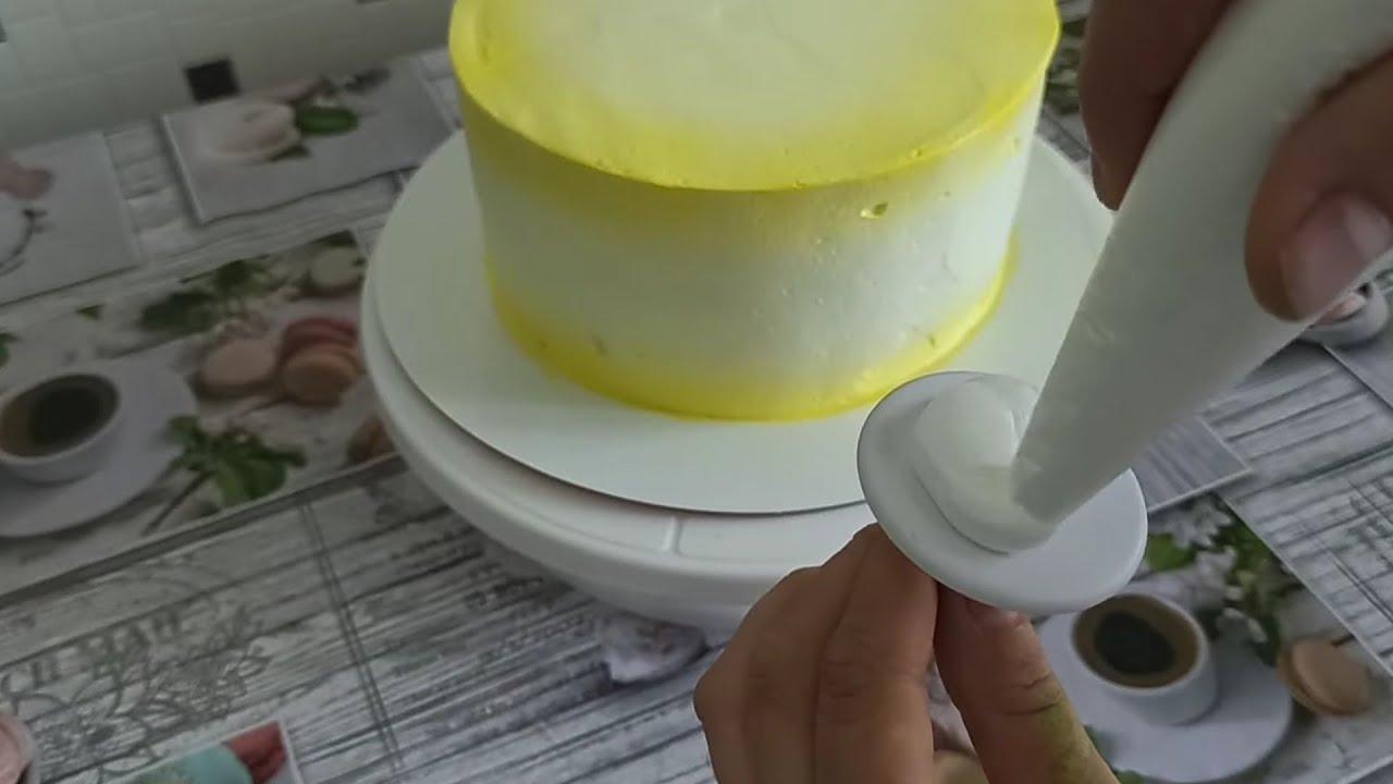 Как украсить торт БЗК .💥 Эти ЦВЕТЫ Вам понравятся 🤗