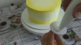 Как украсить торт БЗК Эти ЦВЕТЫ Вам понравятся