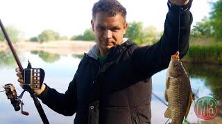 Рыбалка на карася весной в Запорожской области