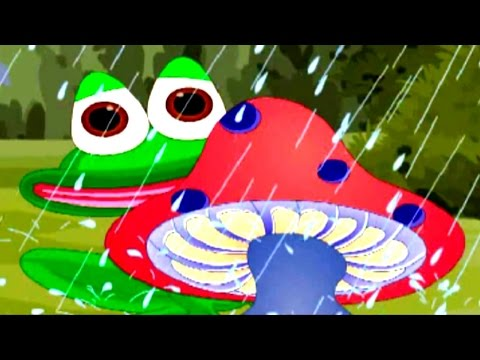 Froggie Froggie Come Out To Play Rhymes|Popular Nursery Rhymes For Children|Best Rain Songs For Kids