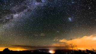 Milky Way over Maungatautari, New Zealand
