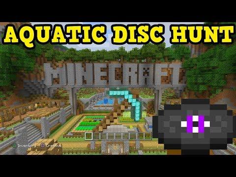 Minecraft PS4 Aquatic Update NEW TUTORIAL DISCS thumbnail