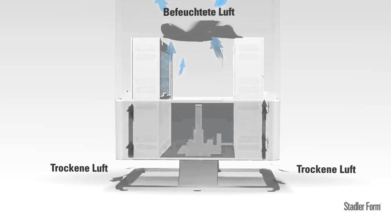 stadler form luftbefeuchter oskar produktvideo youtube. Black Bedroom Furniture Sets. Home Design Ideas