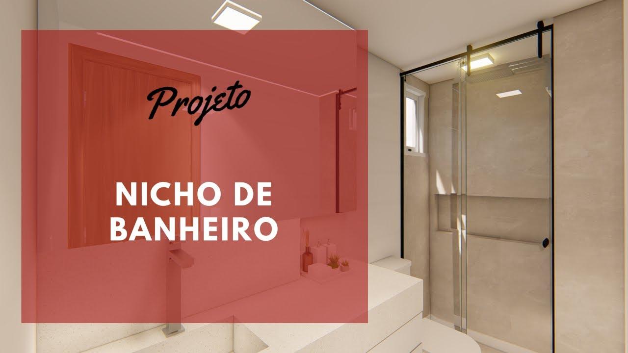 O QUE CONSIDERAR AO FAZER NICHO DE BANHEIRO