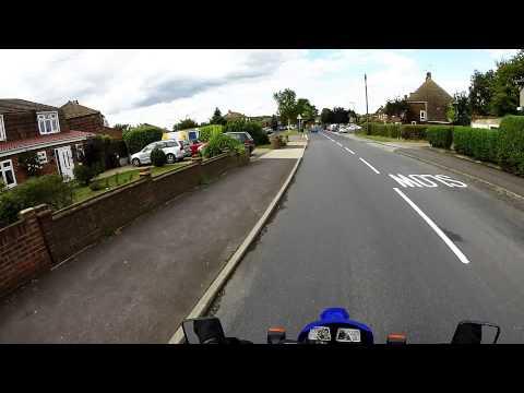 A Ride through High Halstow Village on my XT 600e