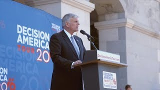 Decision America Tour 2016. Franklin Graham. Sacramento.