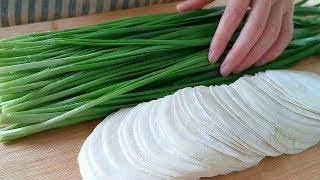 早餐別吃包子了,3塊錢餃子皮加一把韭菜,8分鐘出鍋,太香了! 【小穎美食】