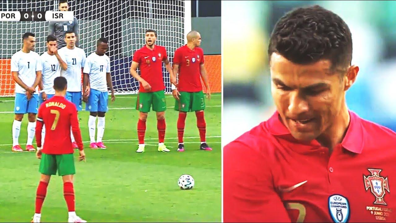 ХУДШИЙ ШТРАФНОЙ РОНАЛДУ! ЧТО ЭТО БЫЛО?! Криштиану засмеяли после матча! Португалия 4:0 Израиль