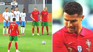 ХУДШИЙ ШТРАФНОЙ РОНАЛДУ ЧТО ЭТО БЫЛО Криштиану засмеяли после матча Португалия 4 0 Израиль