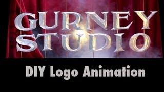 DIY Cardboard Logo Animation