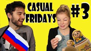TASTING RUSSIAN FOOD || Иностранкa Пробует Русскую Еду [rus_sub]