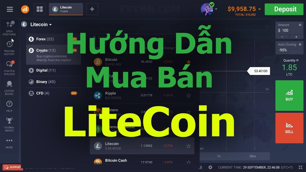 Hướng Dẫn Mua Bán LiteCoin LTC  Hiệu Quả, An Toàn