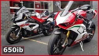 2018 BMW S1000RR vs Ducati V4 Speciale   On The Dyno!