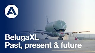 The first BelugaXL has entered the final assembly process. In celeb...