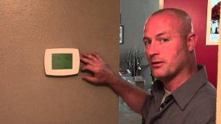 Thermostat for Your Home A/C & Heat. Thermostat maintenance. Battery Changing. 34680