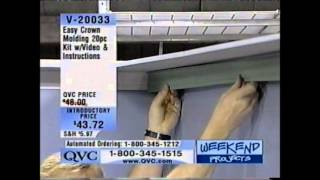 Easy Crown Molding - Do It Yourself With Ez Crown Molding - As Seen On Qvc