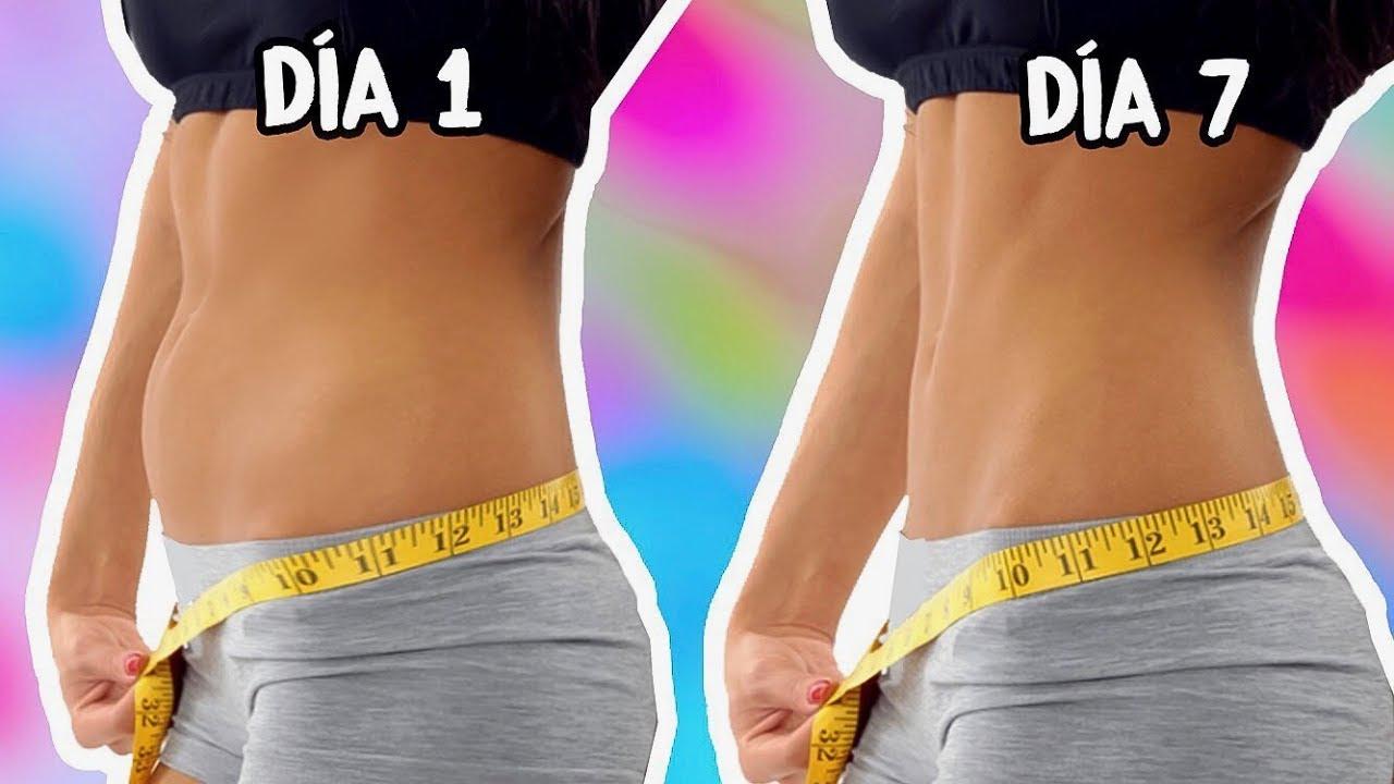 Dieta para adelgazar el abdomen en una semana