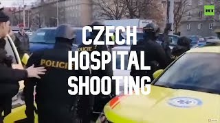 Mass shooting at Czech hospital: 6 killed, suspect takes own life