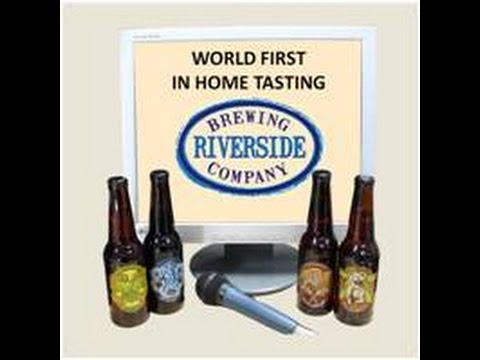 Sofa Sessions with Riverside Brewery - World First in Home Tasting