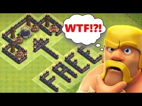 Clash Of Clans | FREE DARK ELIXIR!!! | TROLLING NOOBS! | EPIC DARK ELIXIR TROLL / TRAP!