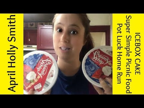 ICEBOX CAKE   Super Simple Picnic Food  April Holly Smith
