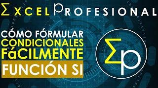 Condicionales en excel fácil y en segundos | Función SI | 16 minutos