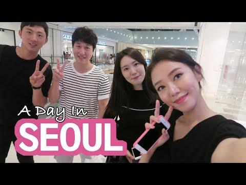 KOREA DIARY | A DAY IN SEOUL ♥ COEX, HAPJEONG, YEOUIDO