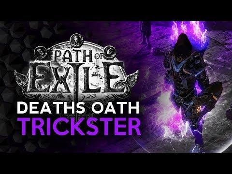 Deaths Oath Triple Curse Trickster - Path of Exile Shadow Build