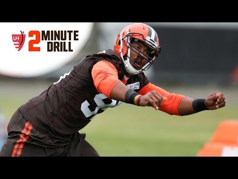 2 Minute Drill: Myles Garrett Signs First Contract