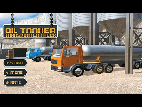 Oil Tanker Transporter Truck|Simulation Android GamePlay