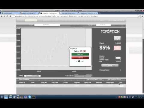 Робот бинарных опционов Гениус 8.0 -продажа опциона