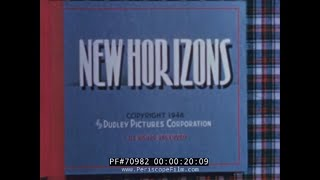 "SEABOARD RAILROAD PROMOTIONAL FILM ""NEW HORIZONS"" 70982"