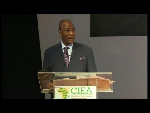 Conférence Internationale sur l'émergence de l'Afrique: Discours du Président Alpha condé