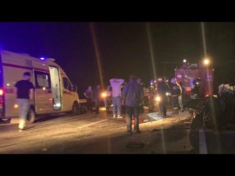 Два человека погибли и трое пострадали в ДТП на автодороге Сургут-Нефтеюганск