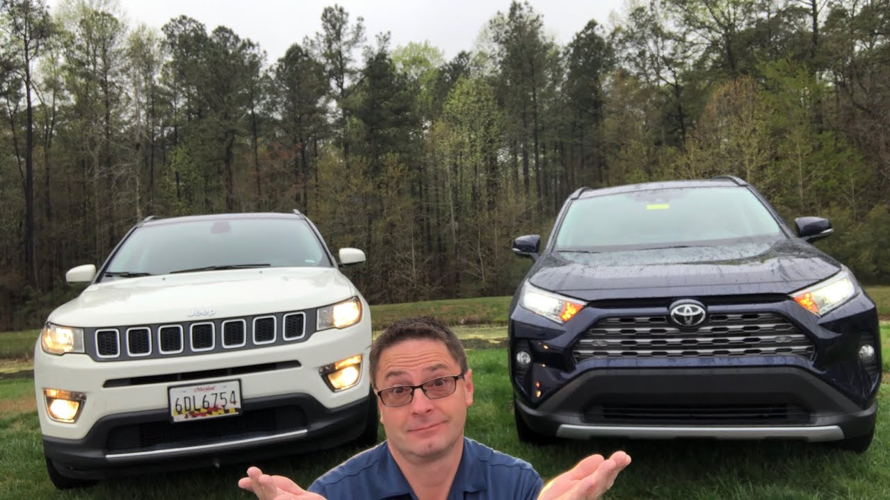 2019 Toyota Rav4 Vs 2019 Jeep Compass You Decide The Winner Youtube