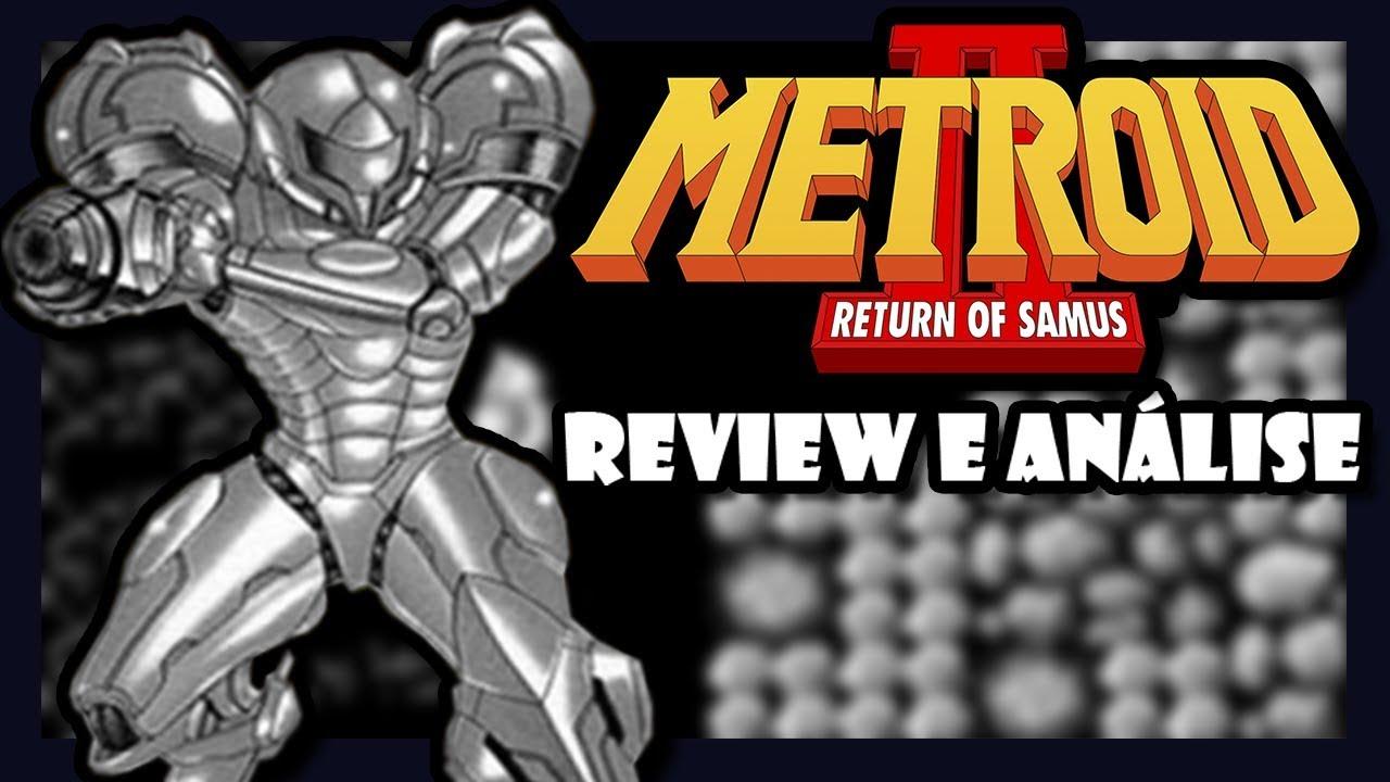 Review e Análise - Metroid 2 Return of Samus - GB - Master Quest