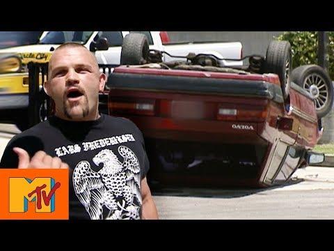 Dana White Tricks Chuck Liddell With A Fake Car Crash | Punk'd