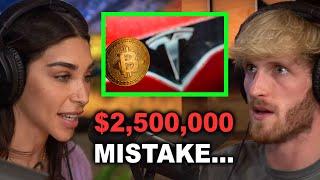 LOGAN PAUL'S $2,500,000 BITCOIN MISTAKE