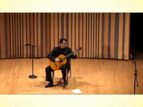 Walter Quevedo live at the Ibero-American Guitar Festival