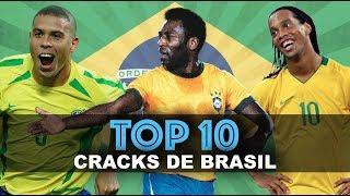 RONALDINHO, PELÉ... TOP 10 MEJORES BRASILEÑOS DE LA HISTORIA