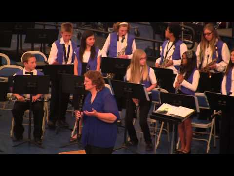 May 7, 2014: Music Extravaganza - Escalante Middle School