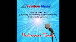 Chasing After You (C) [Minus Piano] [Vashawn Mitchell] [Instrumental Version] SAMPLE