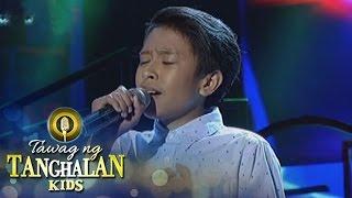 """Visayas contender Lift John Demonteverde sings """"Wag Mo Akong Iwan M..."""