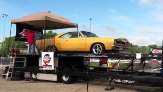 1969 Plymouth Roadrunner 440 6 Barrel on Dyno at MoPar Nats
